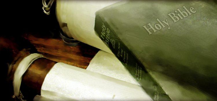 Svijest o podrijetlu Biblije